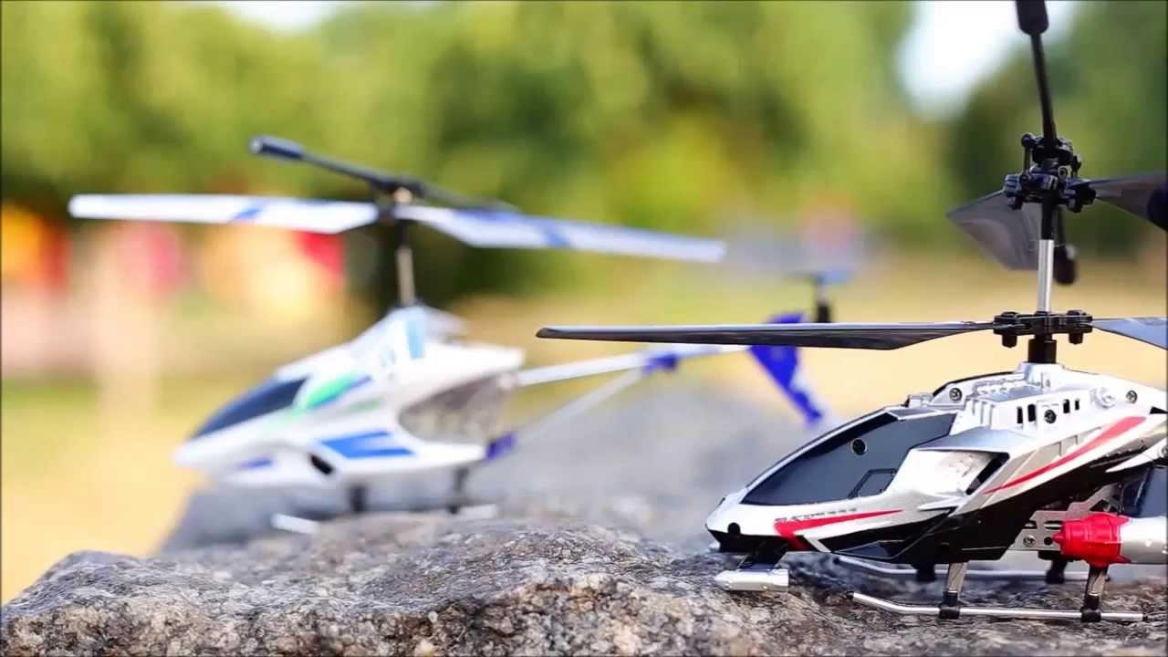 Радиоуправляемые вертолеты в подарок