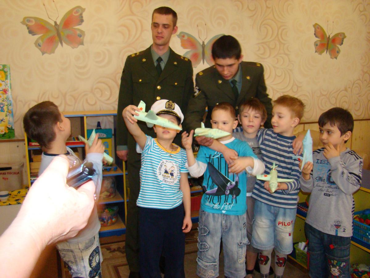 Приглашение военных на праздник на День Защитника Отечества