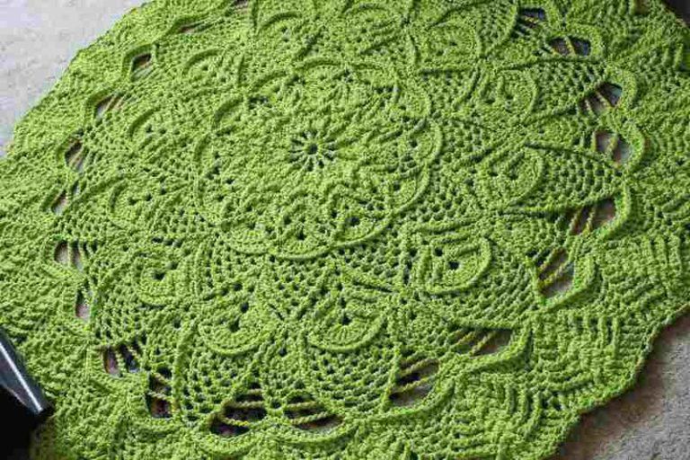 Осинка вязание крючком ковры 93