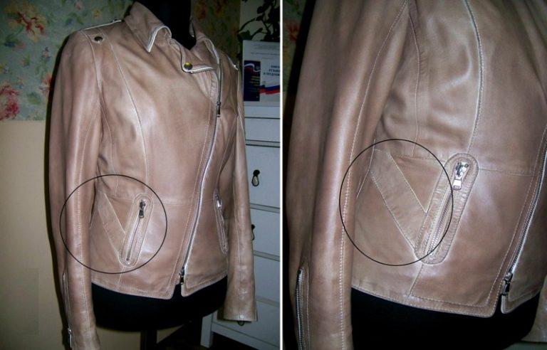 Ремонт воротника куртки из кожзаменителя своими руками 21