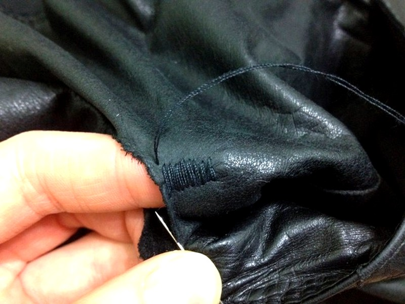 Зашивание дырки