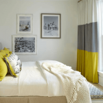Фото 20: Шторы Color Block в спальне