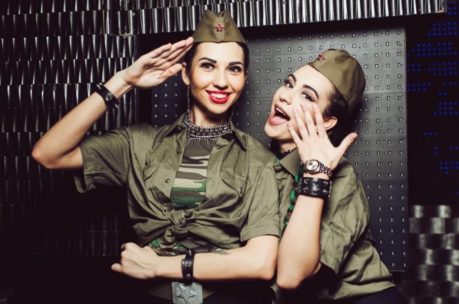 Солдаты одежда