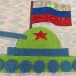Фото 42: открытка поделки в детском салу 23 февраля4