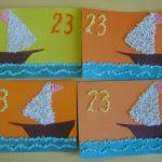 Фото 47: открытка поделки в детском салу 23 февраля45