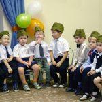 Фото 56: праздник в детском салу 23 февраля