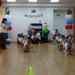 Фото 60: праздник в детском салу 23 февраля23