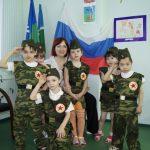 Фото 64: праздник в детском салу 23 февраля87