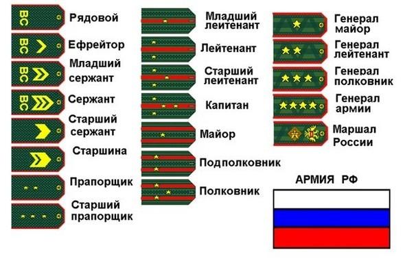 Погоны войск для корпоратива 23 февраля