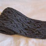 Фото 9: Вязанный шарф