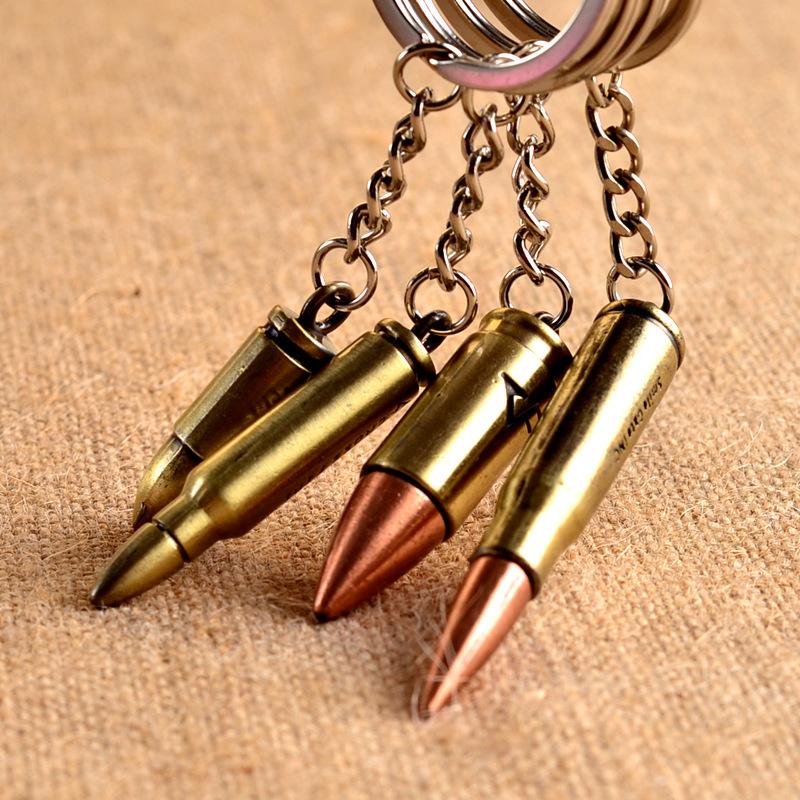 Брелки в виде пуль в подарок на День Защитника Отечества