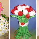 Фото 17: Букеты из воздушных шаров к 8 Марта