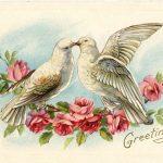 Фото 17: Винтажная открытка ко Дню всех влюбленных