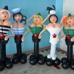 Фото 22: Фигуры из шаров для встречи мужчин ко Дню Защитника Отечества