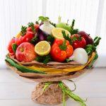 Фото 61: Фруктово-овощной букет