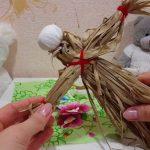 Фото 54: Изготовление масленицы из лыка