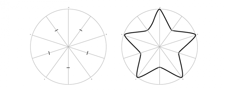 Как рисовать звезду пошагово 99