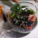 Фото 56: Композиция в вазе флорариум