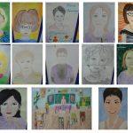 Фото 19: Конкурс рисунков портретов учителей на 8 Марта