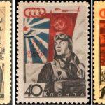 Фото 19: Советские марки ко Дню Защитника Отечества