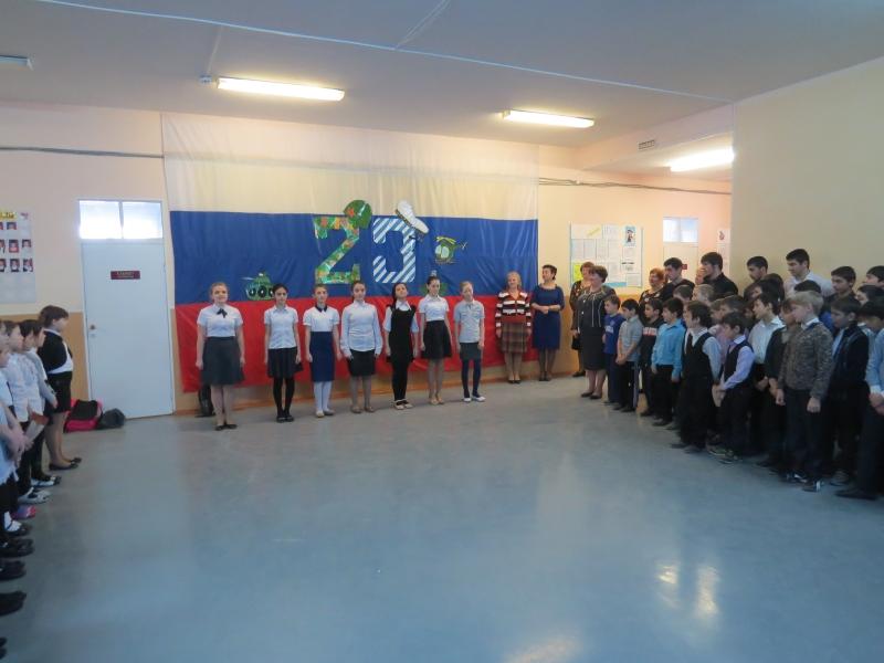 Для праздничного концерта 23 февраля школьники могут подготовить стихи, музыкальные и танцевальные номера