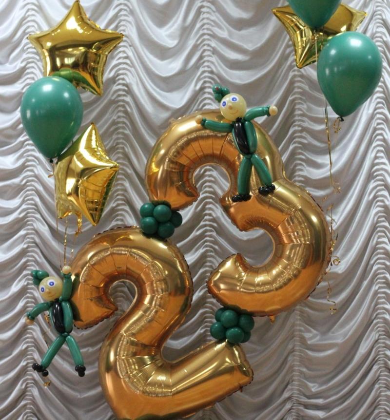 Воздушные шары – отличный вариант для цветовых экспериментов