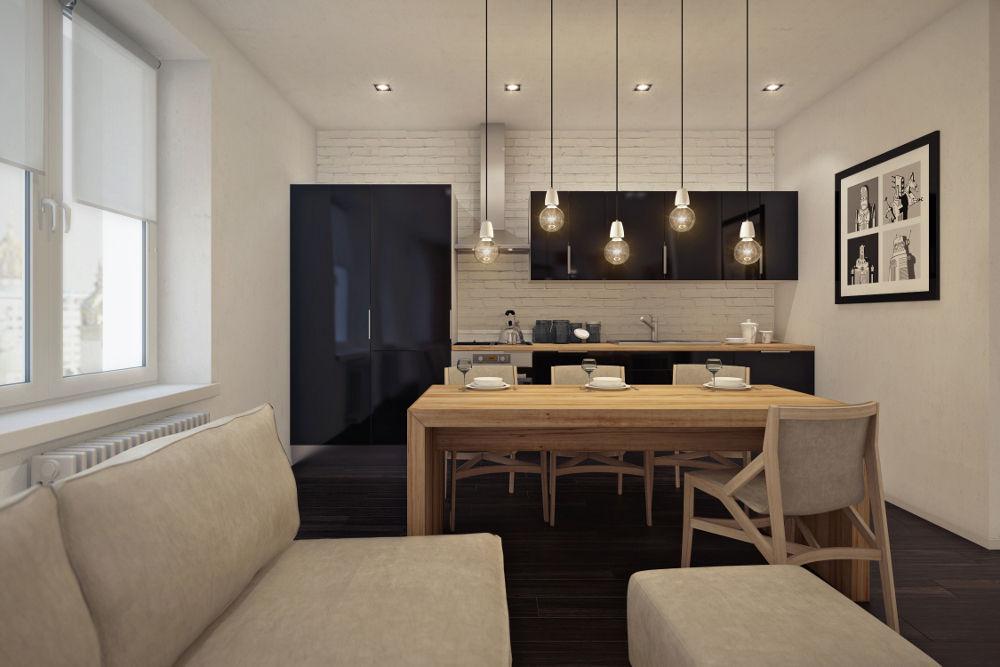 Используйте в квартире-студии необычные предметы декора, соответствующие современным тенденциям