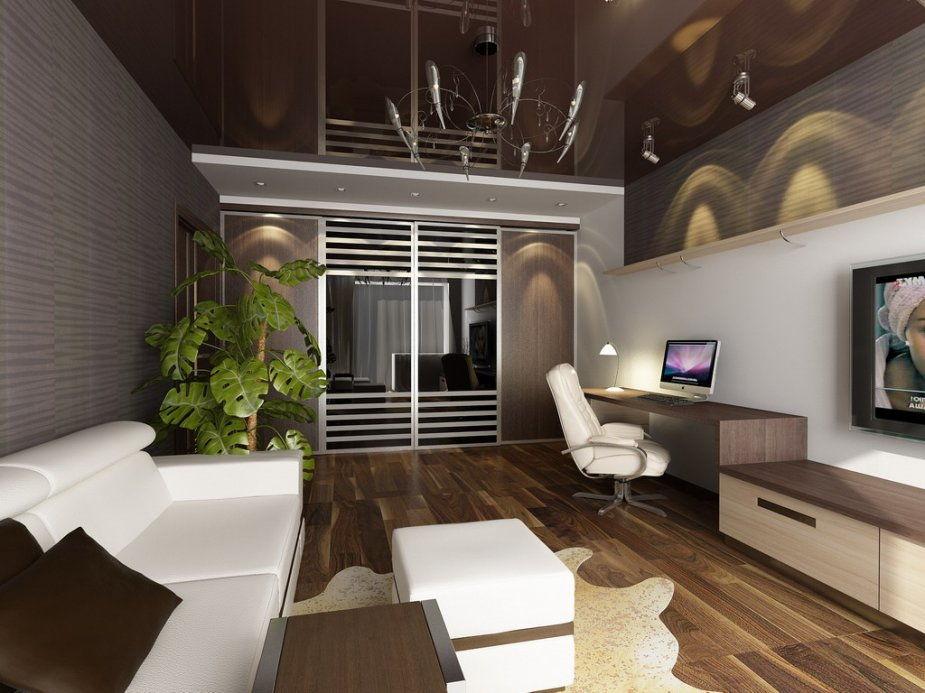 Насыщенные, темные цвета эффектно смотрятся в хорошо освещаемых помещениях