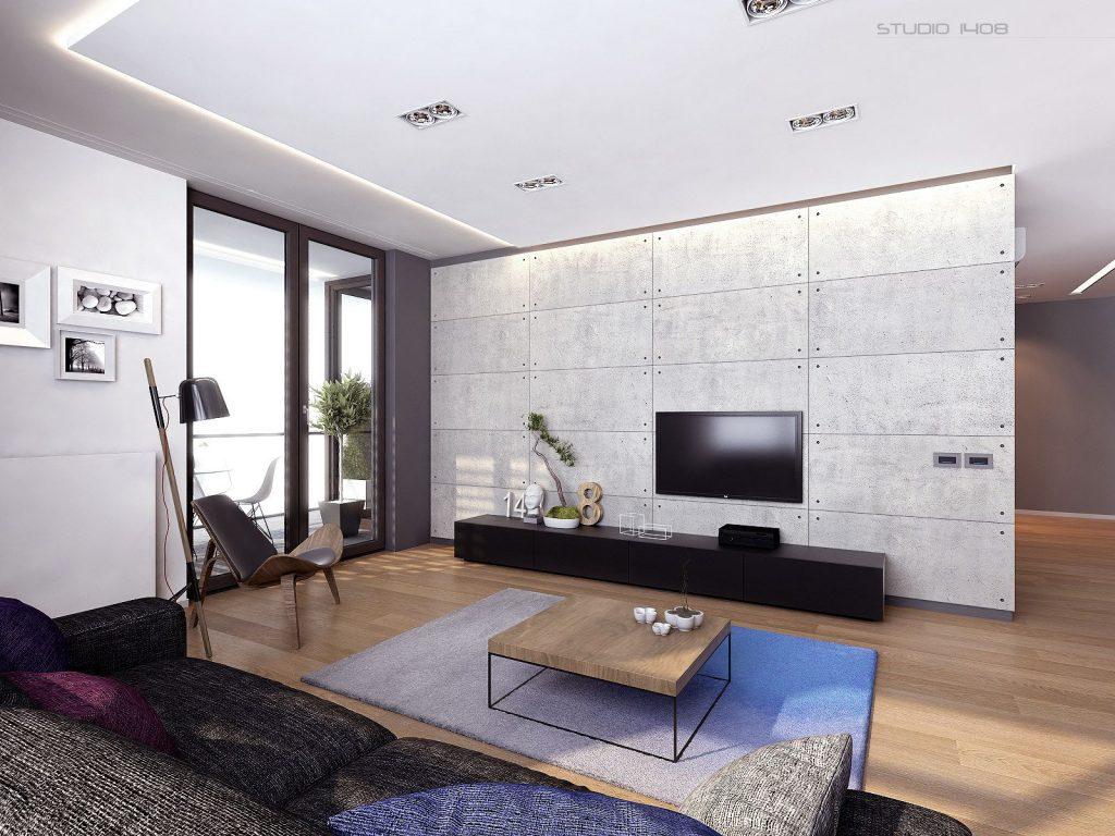 Перегородки могут создать ощущение раздельных комнат