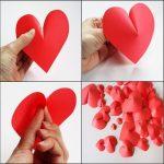 Фото 34: Объемные сердечки