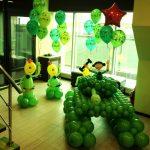 Фото 18: Оформление воздушными шарами к 23 февраля