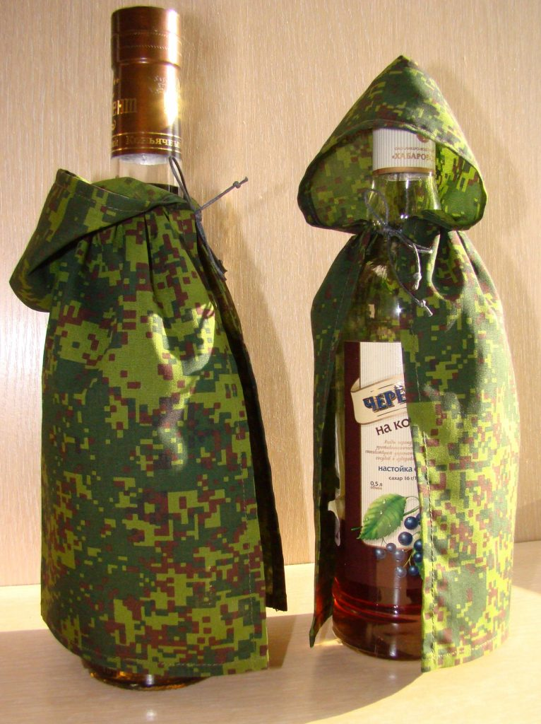Мастер класс бутылка для военного 181