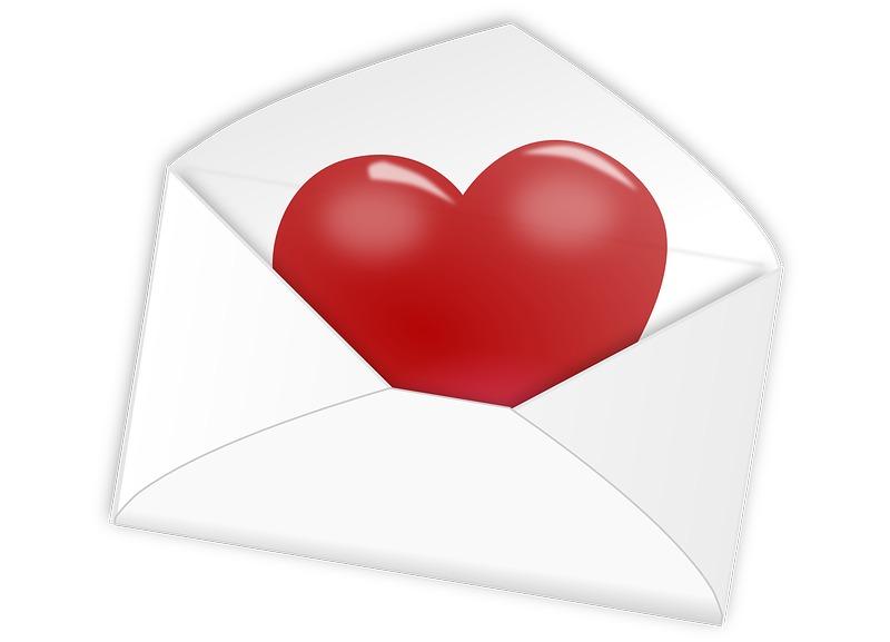 Валентинка по почте