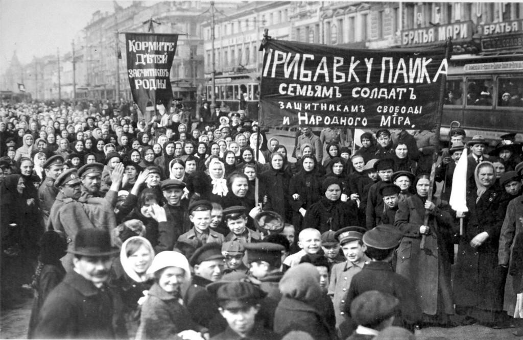 После событий 1917 года большевики, утвердившиеся у власти, праздник женщин превратили в официальное мероприятие