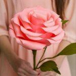 Фото 26: Большая роза к 8 марта