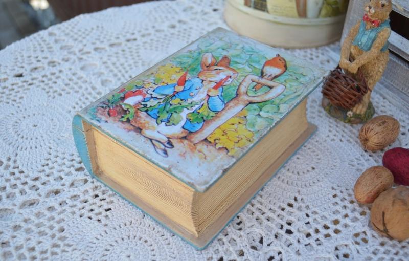 Шкатулка - книжка для девочек