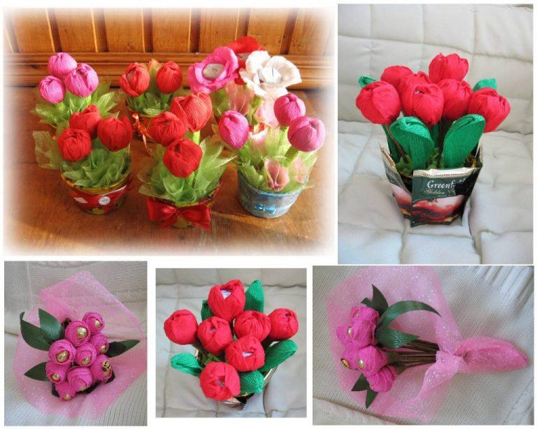 Необычный подарок для мамы к 8 марта своими руками
