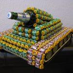 Фото 45: Танк из конфет на 23 февраля