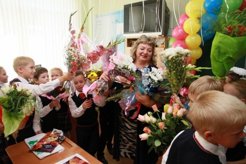 Поздравление учительницы с 8 Марта