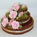 Фото 49: Торт из конфет