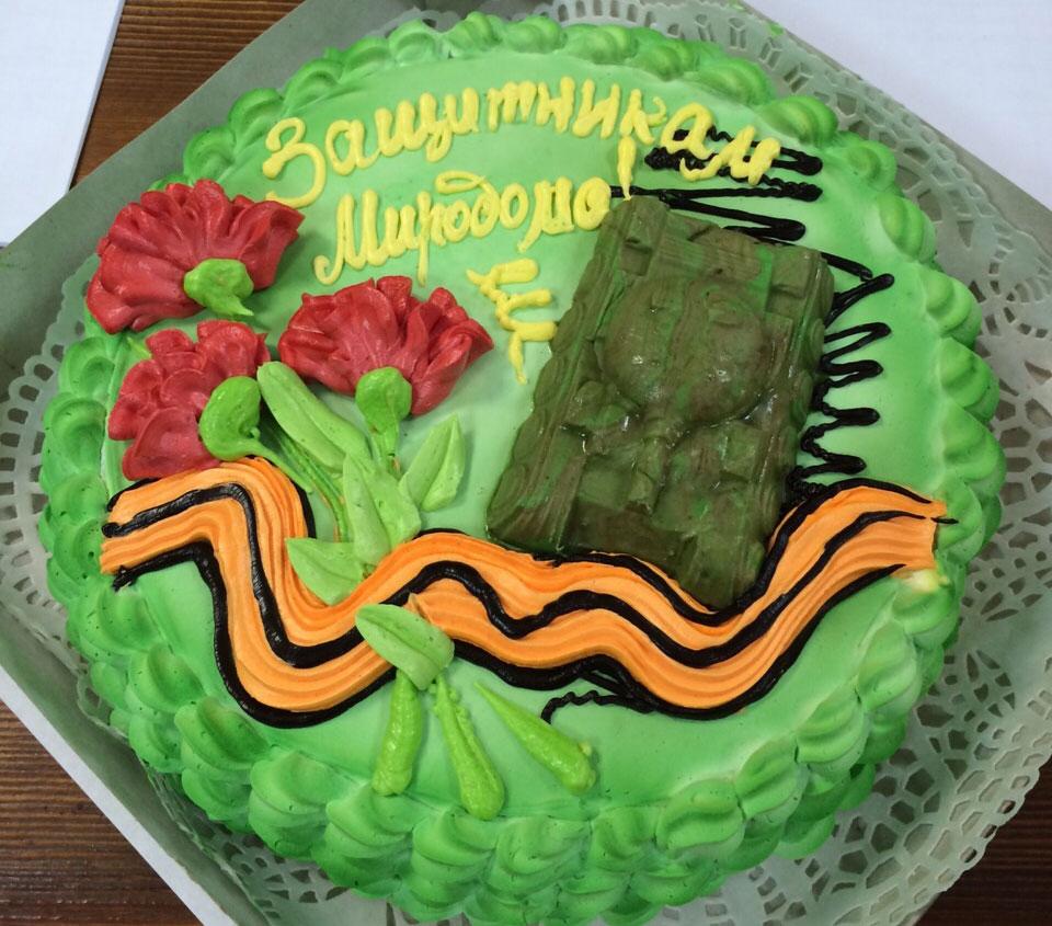 Торт ко Дню Защитника Отечества