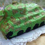 Фото 36: Торт в виде танка