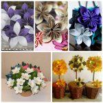 Фото 34: Цветы - оригами к 8 Марта