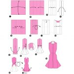 Фото 60: Оригами-платье