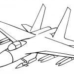 Фото 26: нарисовать самолет