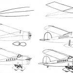 Фото 27: нарисовать самолет