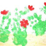 Фото 46: Кактусы пальчиками