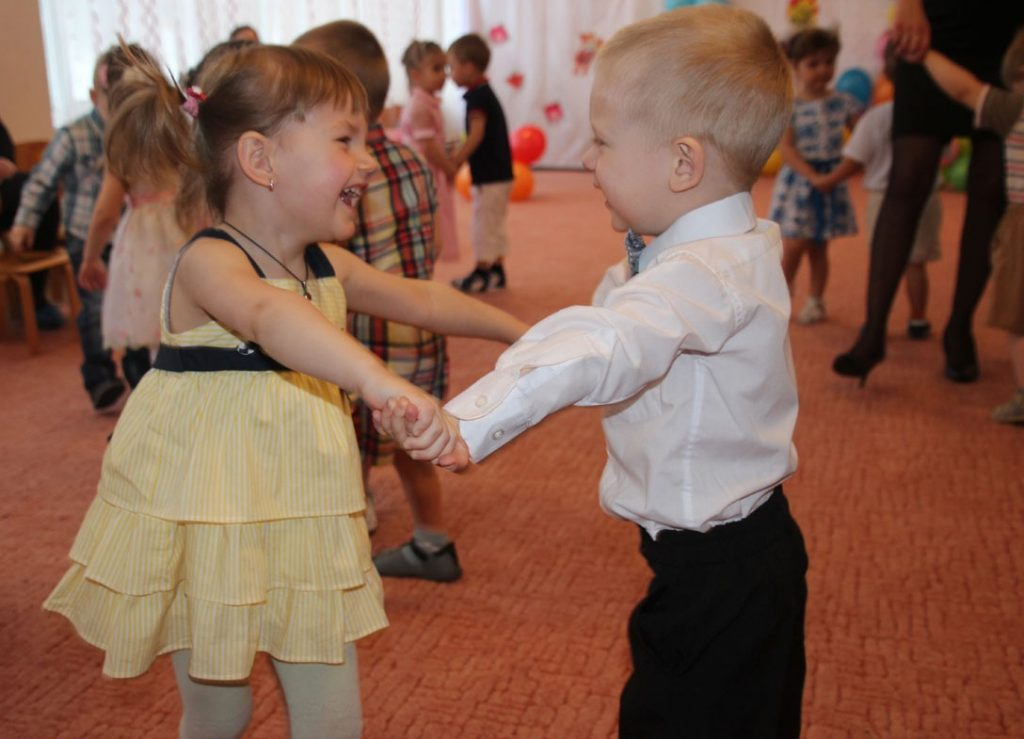 Танец леди и джентельмена