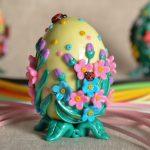 Фото 94: Украшение яиц полимерной глиной