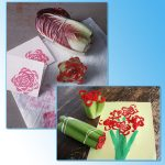 Фото 59: Рисование овощами